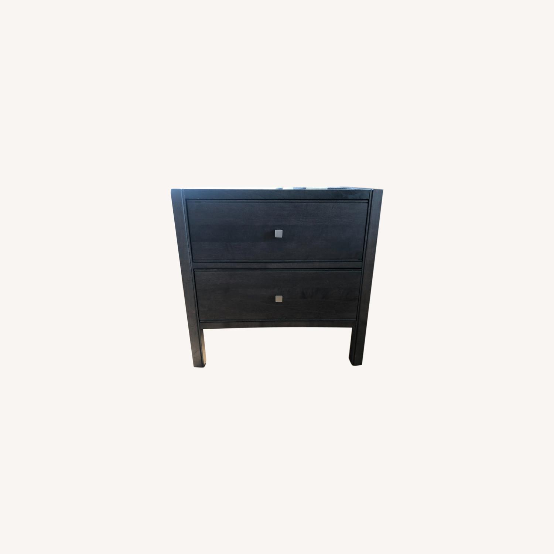 Crate & Barrel Nightstand - image-0