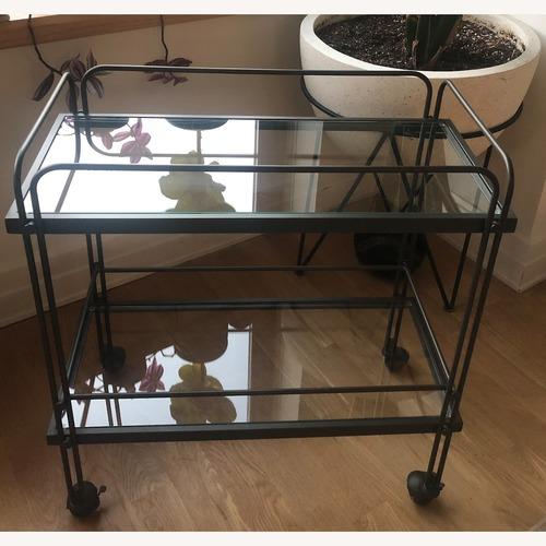 Used West Elm Fulton Bar Cart for sale on AptDeco