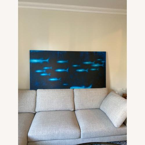 Used Z Gallerie Ocean Artwork for sale on AptDeco