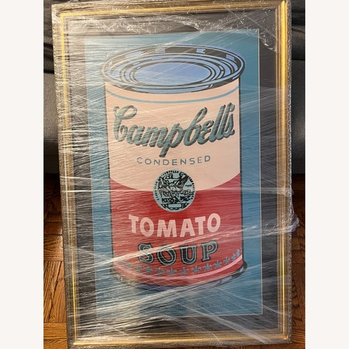 Used Art Design International Warhol Print for sale on AptDeco