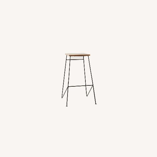 Used Urban Outfitters Industrial Stools (Set of 3) for sale on AptDeco