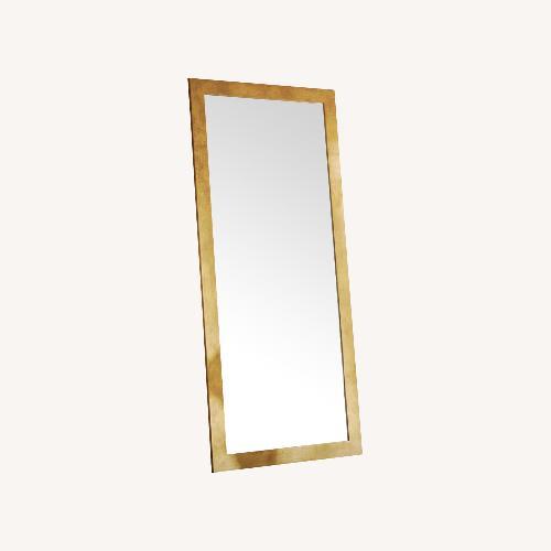 Used Andover Mills lunado Gold Framed Mirror for sale on AptDeco