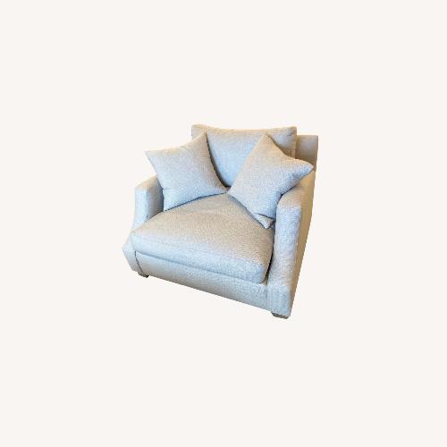 Used Ethan Allen Custom Lynn Chair and a Half for sale on AptDeco