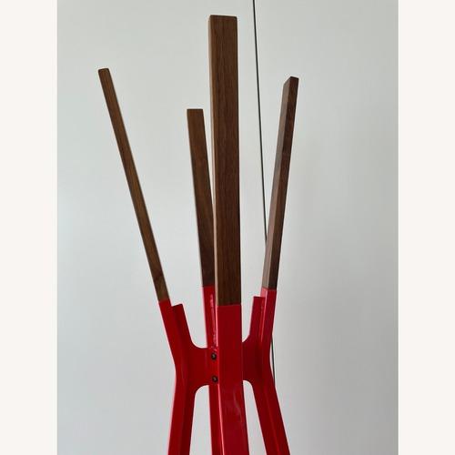 Used Blu Dot Red Coat Rack for sale on AptDeco