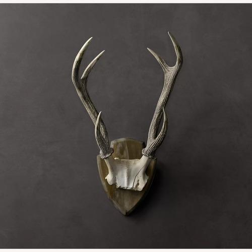 Used Restoration Hardware Deer Antlers in Cast Resin for sale on AptDeco