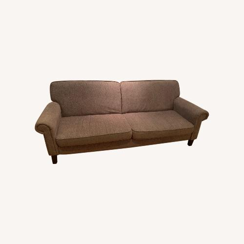 Used Raymour & Flanigan Grey Fold-out Couch for sale on AptDeco