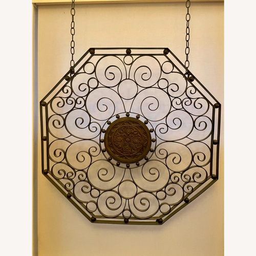 Used Wrought Iron Screen or Table Top for sale on AptDeco
