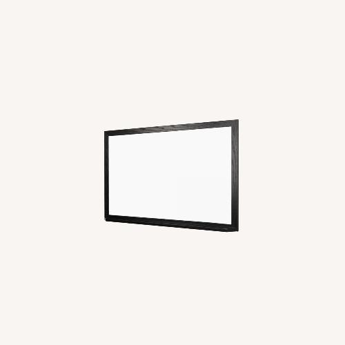 Used 8' Whiteboard with Black Wood Frame for sale on AptDeco