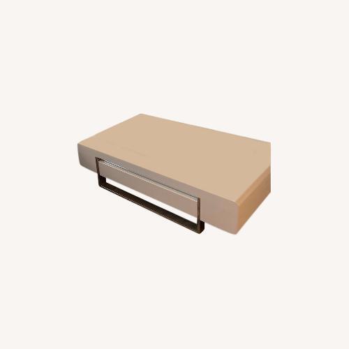 Used Modani White Modern Coffee Table for sale on AptDeco