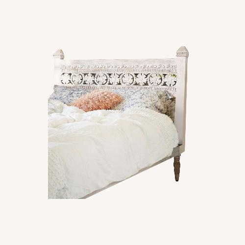 Used Urban Outfitters Bohemian Platform Queen Bed for sale on AptDeco