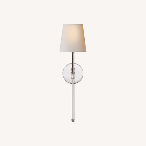 Used Camille Sconce in Polished Nickel for sale on AptDeco