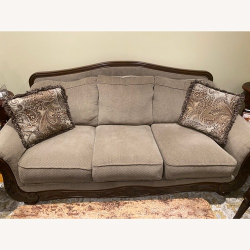 Used Ashley Furniture Two 3 Seater Sofas for sale on AptDeco