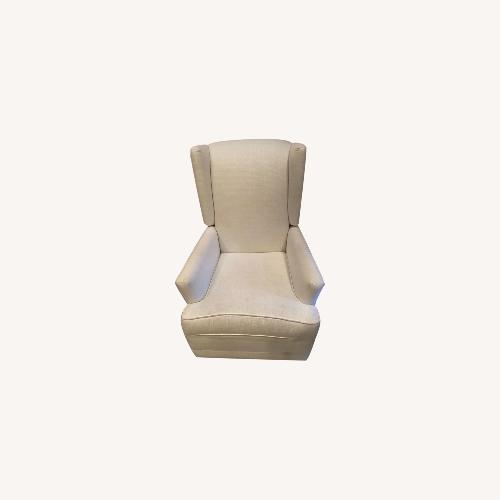 Used Pottery Barn Nursery Recliner with Swivel for sale on AptDeco