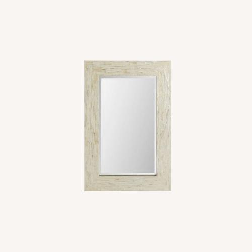 Used Pier 1 Imports Mother-Of-Pearl Mirror for sale on AptDeco