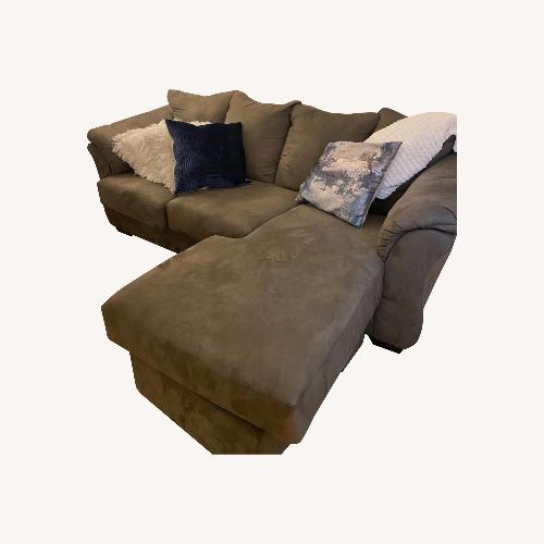 Used Ashley Furniture Darcy Sectional Couch for sale on AptDeco