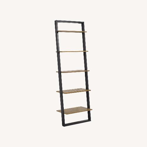 Used West Elm Wide Ladder Wall Shelf for sale on AptDeco