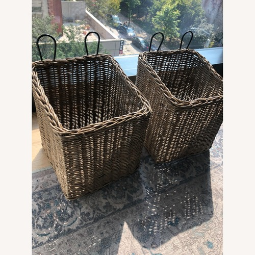 Used Set of two Pottery Barn Organizers for sale on AptDeco