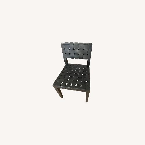 Used Restoration Hardware Vero Leather Side Chair for sale on AptDeco