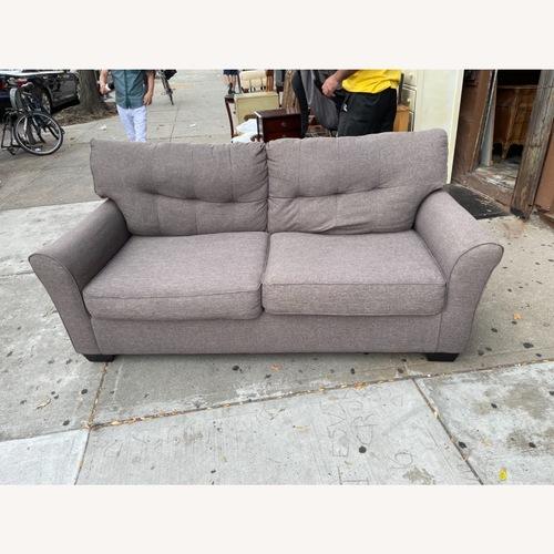 Used Dark Grey Fabric 2- Seater Sofa for sale on AptDeco
