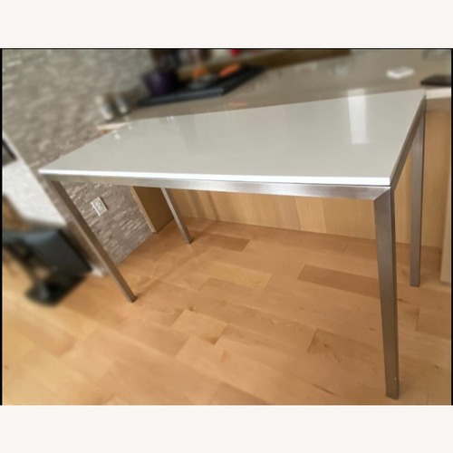 Used Room & Board Parson Dining Table for sale on AptDeco