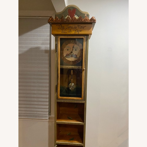 Used Sticks Grandfather Clock for sale on AptDeco