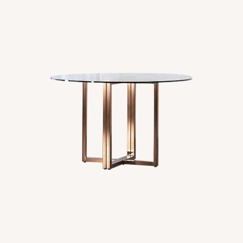 Used CB2 Silverado Dining Table for sale on AptDeco