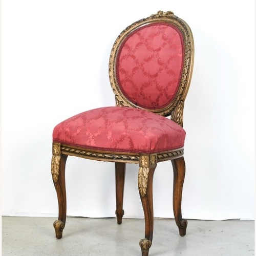 Used Antique French Style Parlor or Side Chair for sale on AptDeco