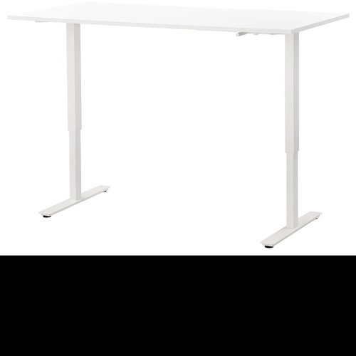 Used IKEA Adjustable Desk in White for sale on AptDeco