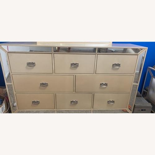 Used Champagne 8 Drawer Dresser for sale on AptDeco