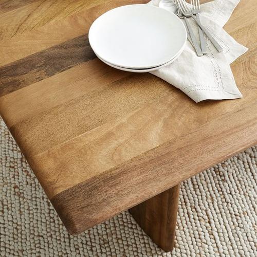 """Used West Elm Anton Solid Wood Dining Table 72"""" Mango Wood for sale on AptDeco"""