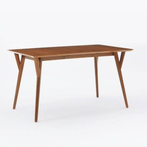 """Used West Elm MidCentury Expandable Table 39-55"""" for sale on AptDeco"""
