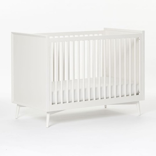 Used West Elm Baby Mid Century Collection Crib for sale on AptDeco