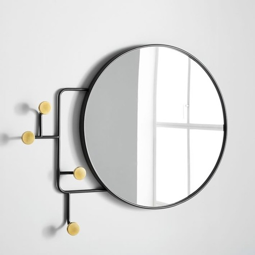 Used West Elm Sculptural Dot Entryway Mirror for sale on AptDeco