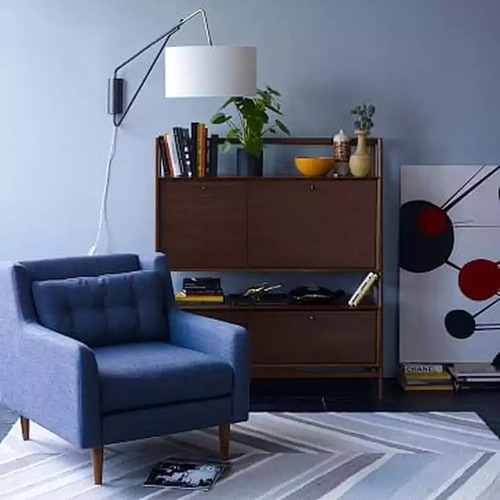 Used West Elm Crosby Arm Chair for sale on AptDeco