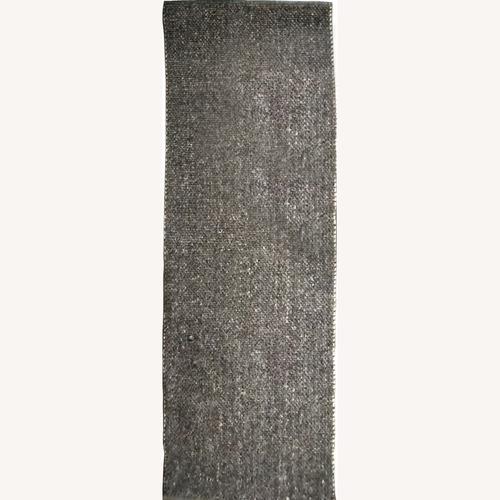 Used Article Texa Raven Runner Gray Wool Rug 8x2.5 Ft for sale on AptDeco