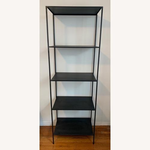 Used Room & Board Slim Bookcase in Natural Steel for sale on AptDeco