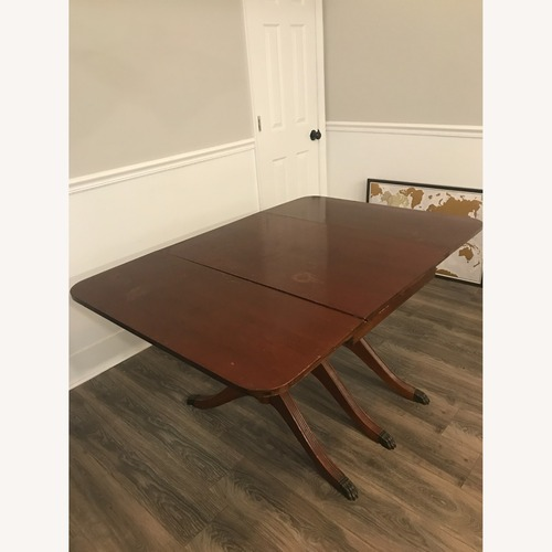 Used Antique/Vintage Claw Foot Wooden Table for sale on AptDeco