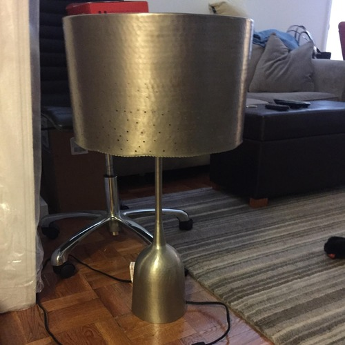 Used Anthropologie Tincelle Dot Table Lamp Base for sale on AptDeco
