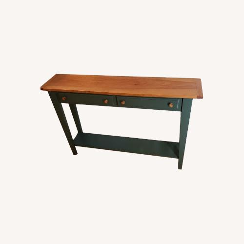 Used Custom Built Library Table by Local Craftsman for sale on AptDeco