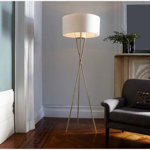 Used West Elm Mid-Century Tripod Floor Lamp for sale on AptDeco