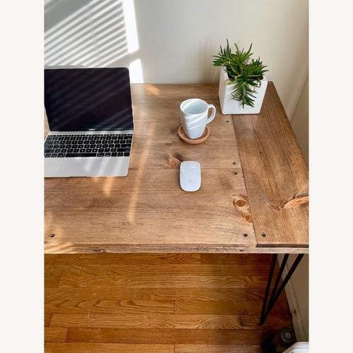 Used Handmade Desk -Walnut -Mid Century Modern for sale on AptDeco