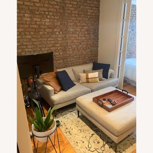 Used West Elm Andes Sofa + Ottoman for sale on AptDeco