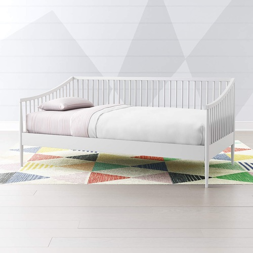 Used Crate & Barrel Hampshire Daybed w/Trundle in White for sale on AptDeco