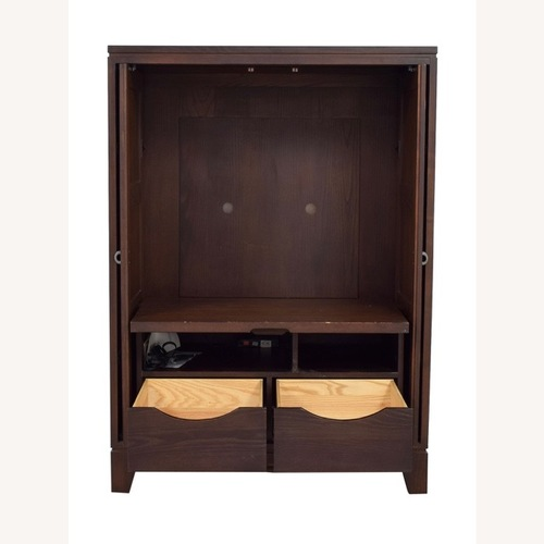 Used Modern Armoire Storage Cabinet Ethan Allen for sale on AptDeco