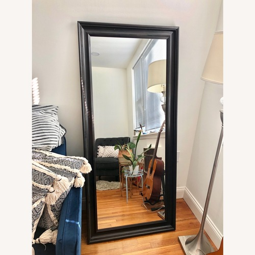 Used Brown Wooden Large Mirror for sale on AptDeco
