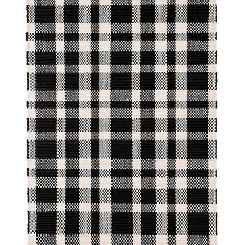Used McGee and Co/Dash and Albert Tattersal Rug for sale on AptDeco