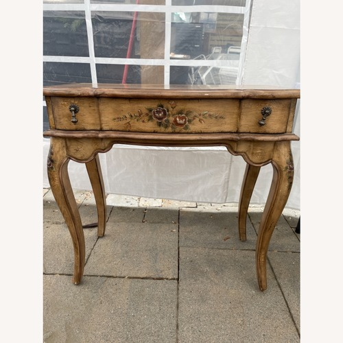 Used French Provincial Distressed Table for sale on AptDeco