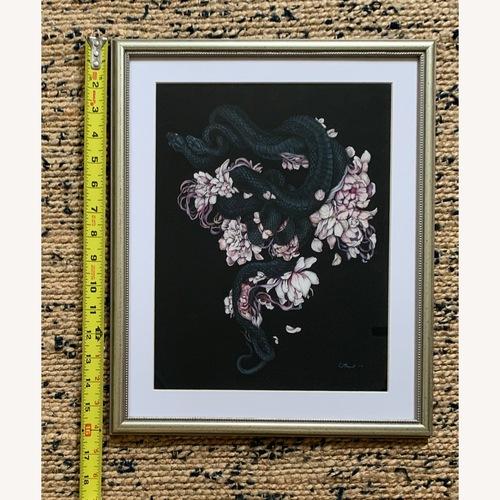 Used Framed Christina Mrozik Print for sale on AptDeco