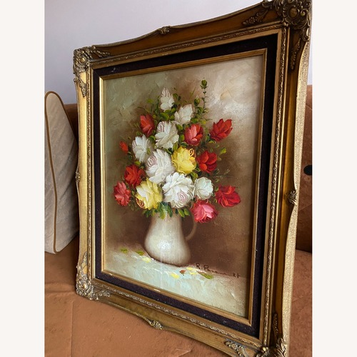 Used Bouquet of Peonies Wall Art for sale on AptDeco