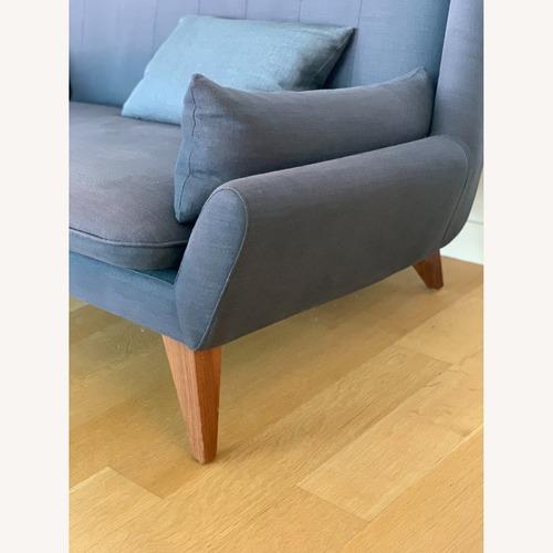 Used Palms Love Seat in Indigo for sale on AptDeco
